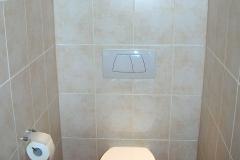 WC im Badezimmer